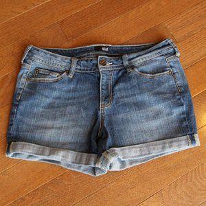 ana Cuffed Jean Shorts Size 12